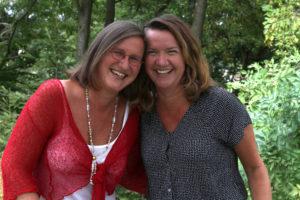 Sabine Bends und Klaudia Gebauer